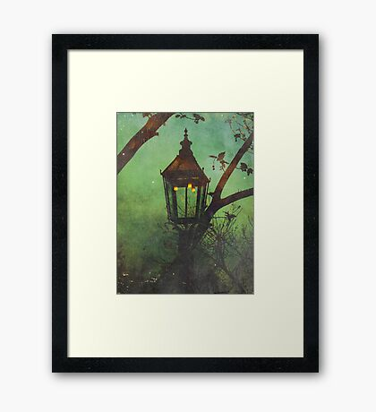 It's this way Home Framed Print
