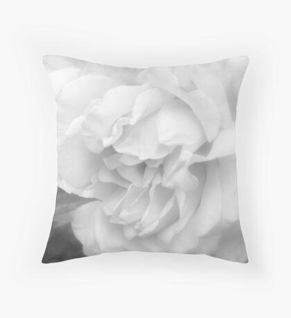 White 2 Throw Pillow