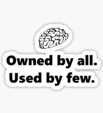 The Brain Sticker