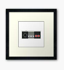 Nintendo Controller - Retro Framed Print