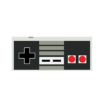 Nintendo Controller - Retro by nyr1301