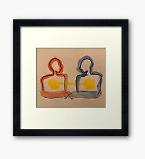 epiphany about love and personhood Framed Print