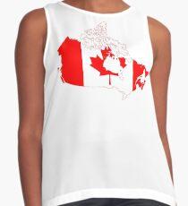 Canada Sleeveless Top