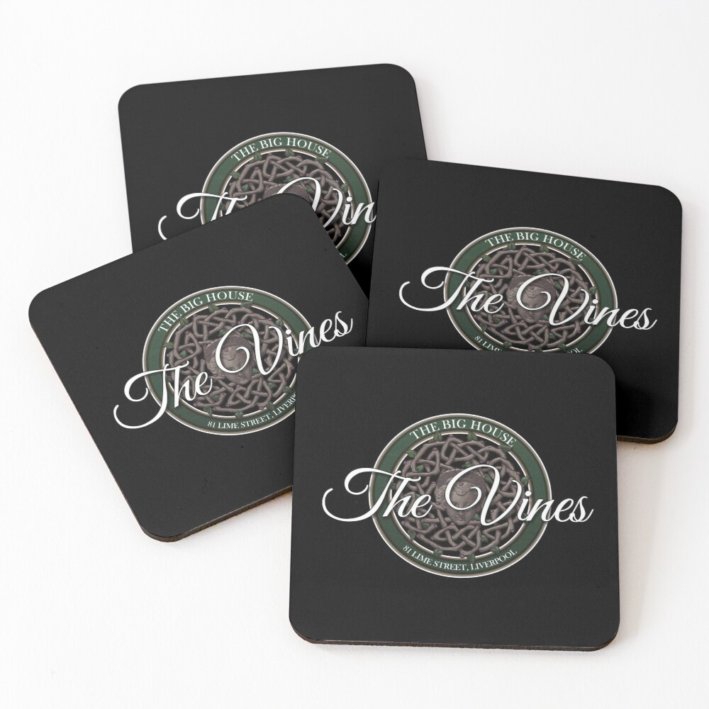The Vines Logo 002 Coasters (Set of 4)