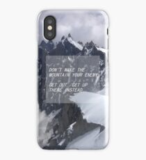 florence and the machine mountain lyrics iPhone Case/Skin