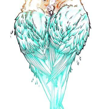 Lovebirds by mcrmorbid