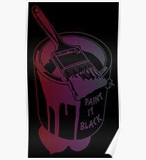Paint It Black - Rolling Stones Poster