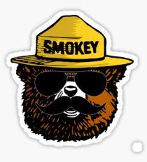Cool Smokey Sticker