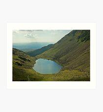 Goats Water,The Lake District Art Print