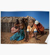 Samburu life Poster