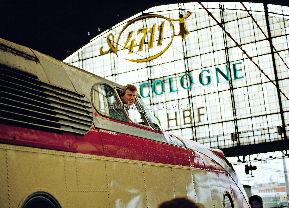 Trans Europe Express at Cologne, Germany, 1980s. by David A. L. Davies