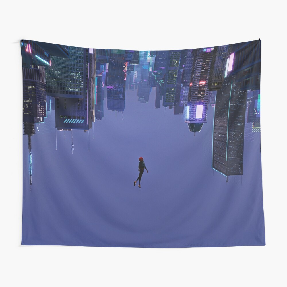 Not Falling, But Rising Wall Tapestry