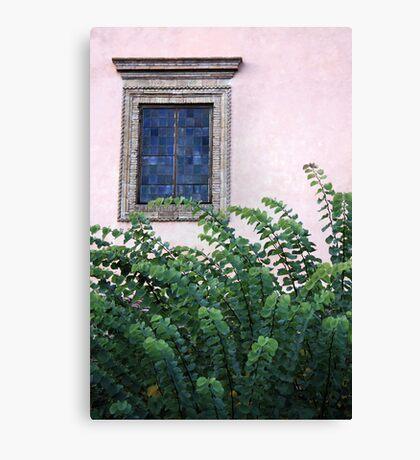 Leafy excursion Canvas Print