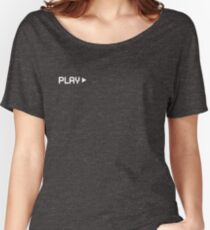 VHS PLAY Women's Relaxed Fit T-Shirt