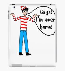 Wally's Here iPad Case/Skin