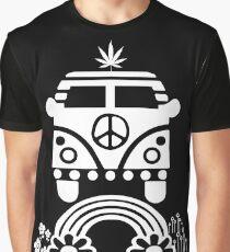 Hippie - Peace - Hanf - Generation Grafik T-Shirt