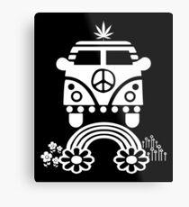 Hippie - Peace - Hanf - Generation Metallbild
