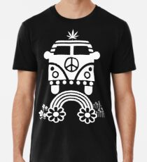 Hippie - Peace - Hanf - Generation Premium T-Shirt