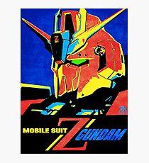 Zeta Gundam Photographic Print