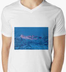 Jim Mountain-Signed-#0265 Men's V-Neck T-Shirt