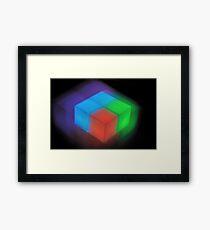Tetris I Framed Print