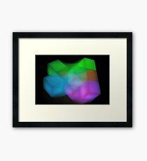 Tetris II Framed Print