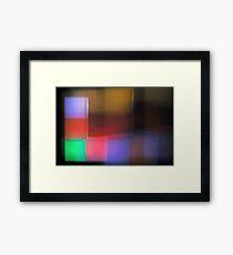 Tetris IV Framed Print
