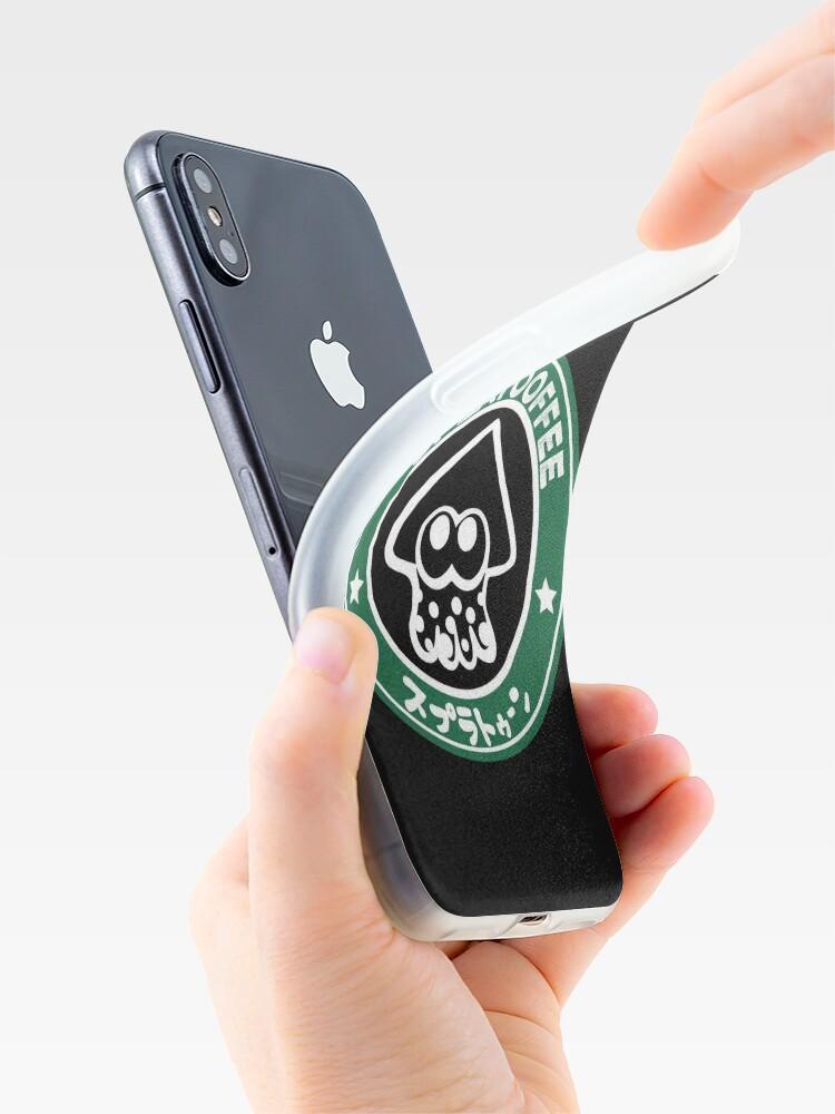 Vista alternativa de Funda y vinilo para iPhone Splatooffee