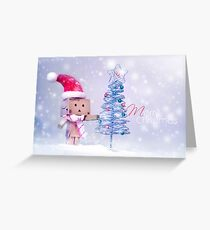 Merry Christmas Danbo II Greeting Card