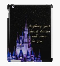 Anything your heart desires iPad Case/Skin