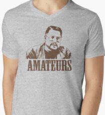 The Big Lebowski Walter Sobchak Amateurs T-Shirt Men's V-Neck T-Shirt