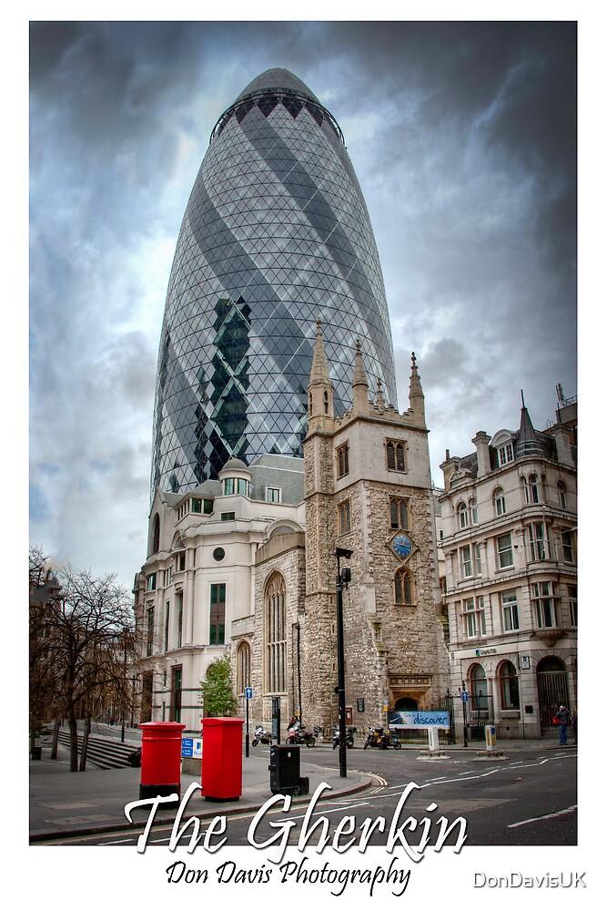 The Gherkin: London, UK. by DonDavisUK