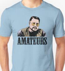 The Big Lebowski Walter Sobchak Amateurs Color T-Shirt Slim Fit T-Shirt