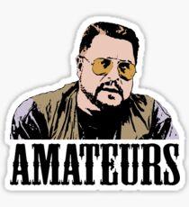 The Big Lebowski Walter Sobchak Amateurs Color T-Shirt Sticker