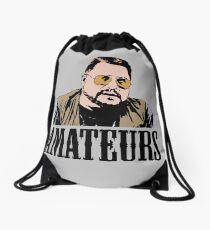 The Big Lebowski Walter Sobchak Amateurs Color T-Shirt Drawstring Bag