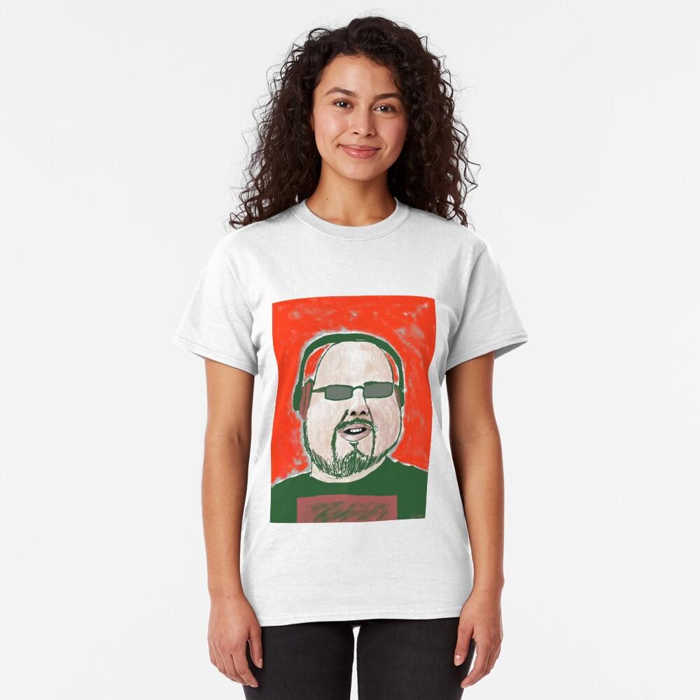 Earphone Bloke Classic T-Shirt