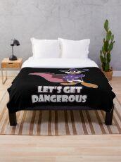 Darkwing Duck Throw Blanket