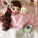 Belle and rabbit by Jenny Lee of Jennylovesbenny by jennylovesbenny