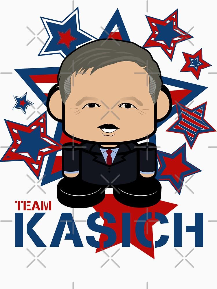 Team Kasich Politico'bot Toy Robot by carbonfibreme