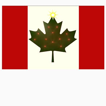 Holiday Canadian Flag by marsmercer