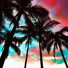 Waikiki Skyscape by Benjamin Padgett
