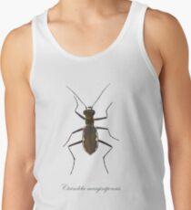 Cobblestone tiger beetle, Cicindela marginipennis Tank Top
