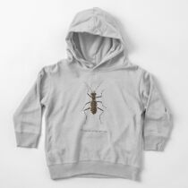 Cobblestone tiger beetle, Cicindela marginipennis Toddler Pullover Hoodie