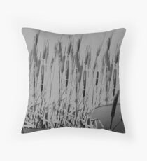 Wild dry flowers Throw Pillow