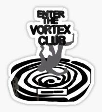 Enter the Vortex Club Sticker