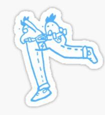 Super Pants Bros Sticker