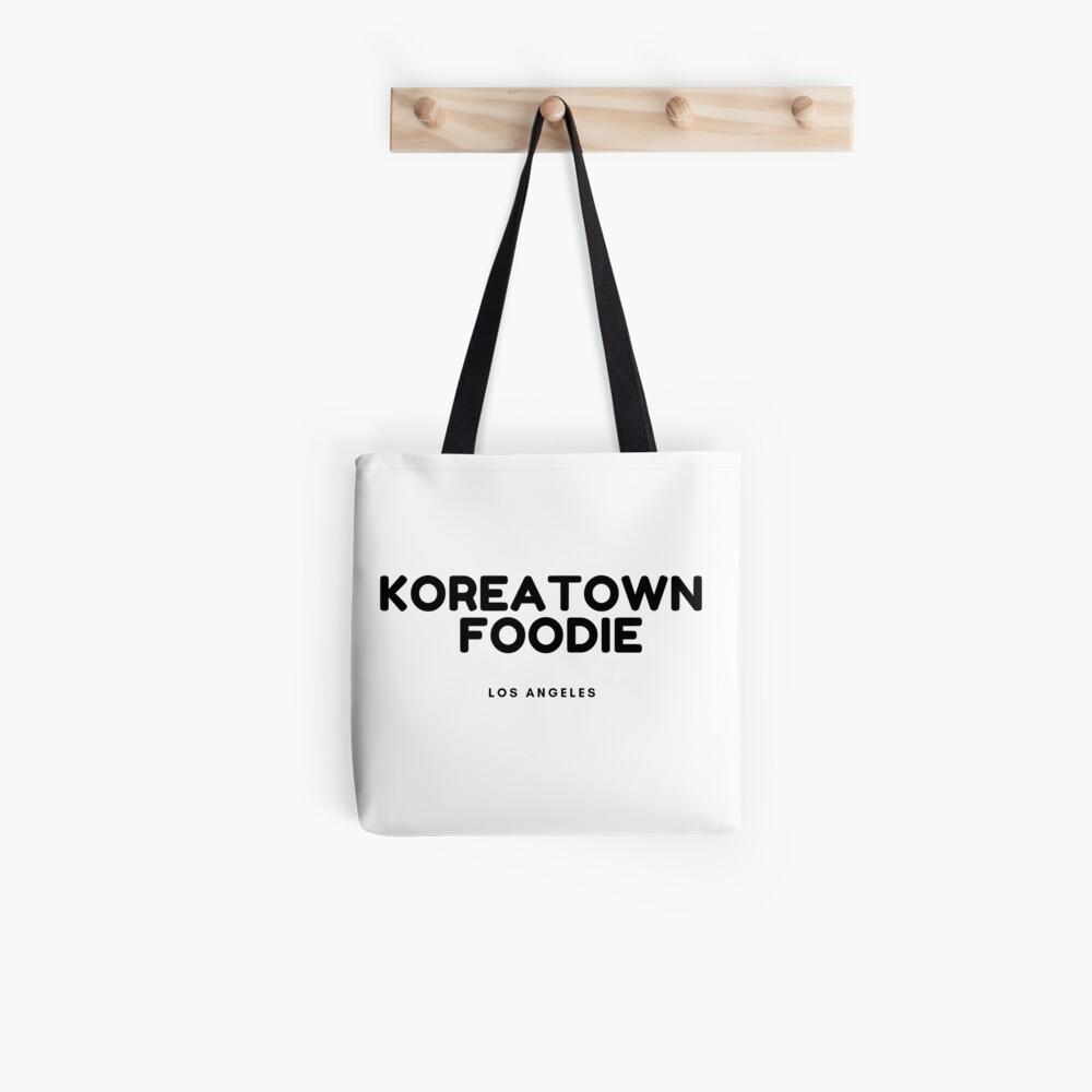 Koreatown Food T-shirt Tote Bag