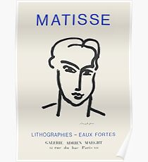Henri Matisse - Exhibition poster advertising an art exhibition at the Galerie Maeght in Paris, 1964 Poster