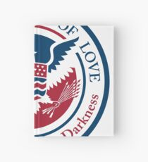 ministry of love, official seal Hardcover Journal