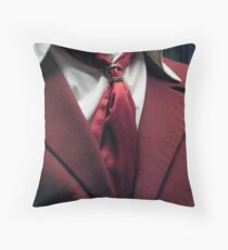 A King's Tux Throw Pillow